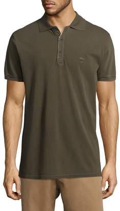 Diesel Men's Kalanit Camicia Ruffled Polo Shirt