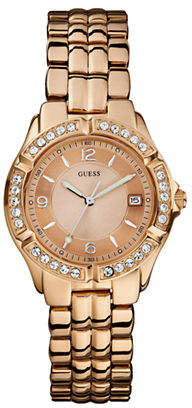 GUESS Rose Gold Ladies Sports Watch W0148L3