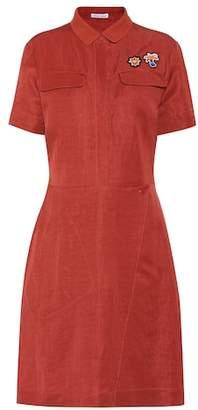 Tomas Maier Linen utility dress