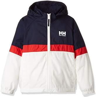 Helly Hansen (ヘリー ハンセン) - (ヘリーハンセン) HELLY HANSEN(ヘリーハンセン) トライベルゲンジャケット(キッズ) HOJ11704 [ジュニア] HOJ11704 HW へリーブルー×ホワイト 110