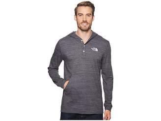 The North Face Henley Tri-Blend Hoodie Men's Sweatshirt