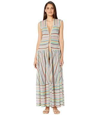 Missoni Mare Striped Cover-Up Dress