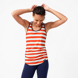 New Balance® for J.Crew perfect tank top in stripe $45 thestylecure.com