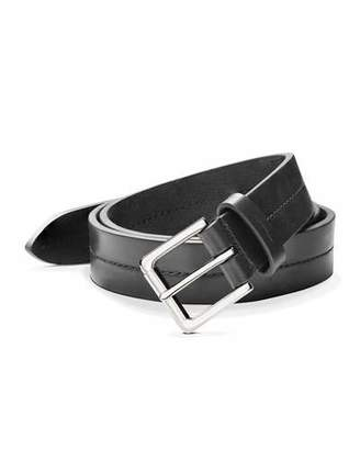 Shinola Men's Center-Stitched Leather Belt