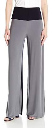 Norma Kamali Women's Side Stripe Elephant Pant