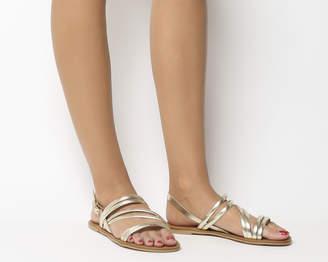 Office Swirl Asymmetric Strap Sandals
