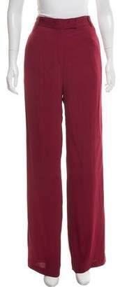 Ann Demeulemeester High-Rise Wide-Leg Pants w/ Tags
