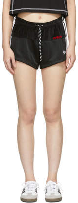 adidas By Alexander Wang by Alexander Wang Black Disjoin Jersey Shorts