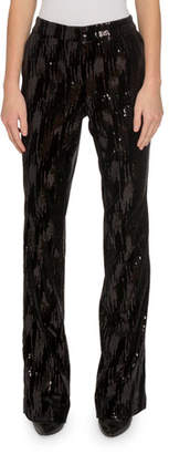 Redemption Smocked Sequined Pants