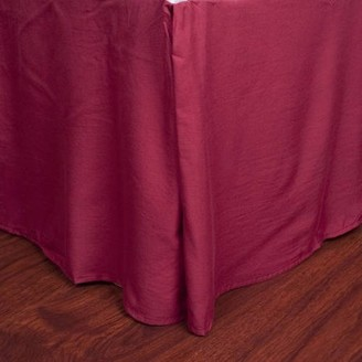 "Sweet Home Collection Microfiber 1500 Egyptian Quality Pleated Bed Skirt with 14"" Drop"