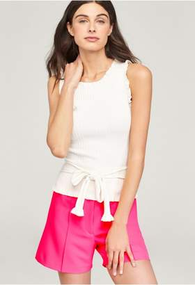 Milly Ruffle Tie Wrap Shell