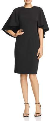 Eliza J Cape-Sleeve Dress