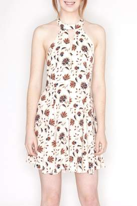 Hommage Floral Print Dress