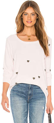 Chaser Tiny Hearts Sweatshirt