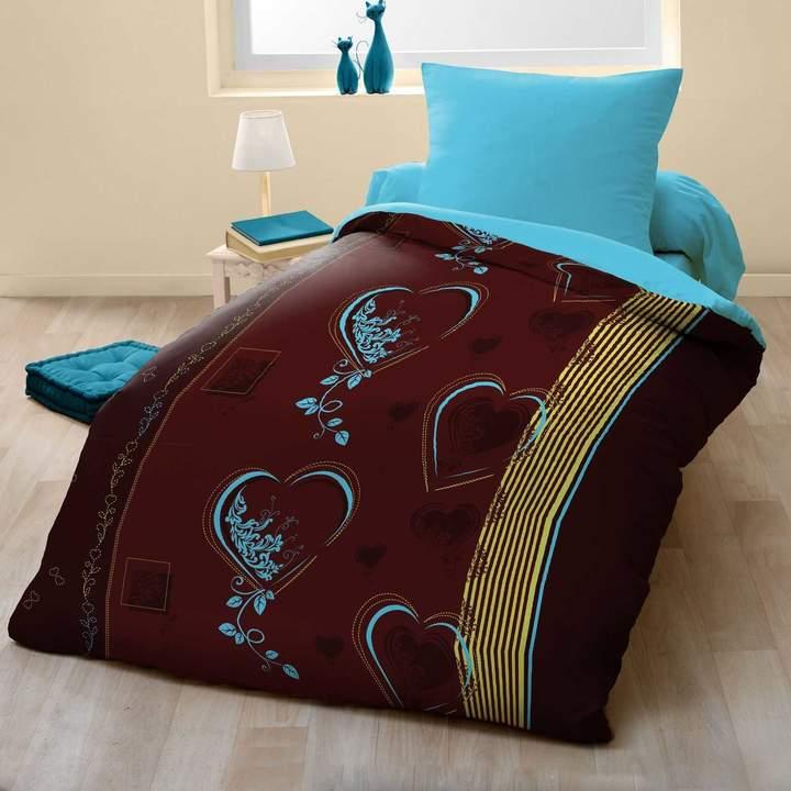 Sweet Home Lovely Heart - Bettwäsche-Set - mehrfarbig