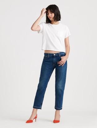 Lucky Brand Mid Rise Sienna Slim Boyfriend Jean