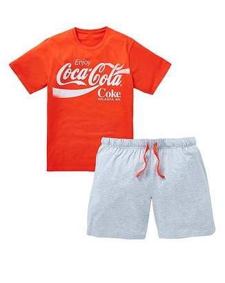 Coca-Cola Shorts PJ Set