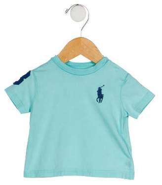 Ralph Lauren Boys' Embroidered Short Sleeve T-Shirt