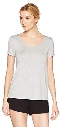 Mae Women's Loungewear Scoop Neck Short Sleeve T-Shirt