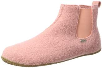 Living Kitzbühel Unisex Adults' Chelsea Boots Unifarben Hi-Top Slippers