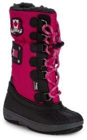 Camper Kid's Faux Fur Lined Boots