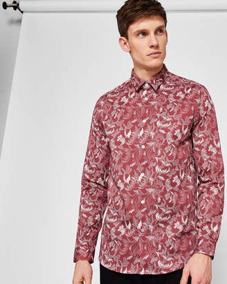 787f86012 Ted Baker KIDDOW Floral dot print cotton shirt