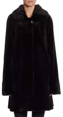 The Fur Salon Reversible Sheared Mink Coat