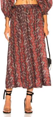 Zimmermann Bayou Draw Flare Skirt