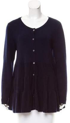 Co Wool Button-Up Cardigan