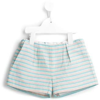 Hucklebones London beach stripe shorts