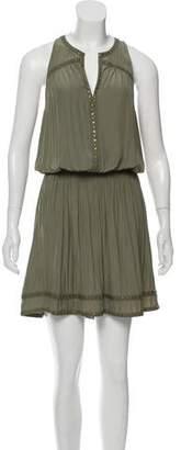 Ramy Brook Sleeveless Midi Pleated Dress