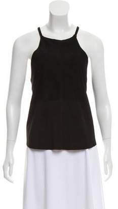 Townsen Sleeveless Suede Top