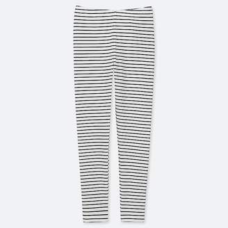 Uniqlo Girl's Striped Leggings