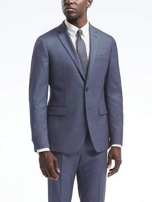 Banana Republic Slim Solid Wool Suit Jacket