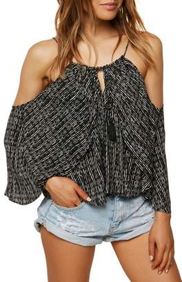 O'Neill Jalen Cold Shoulder Halter Top