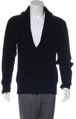 Dolce & Gabbana Wool Shawl Collar Cardigan