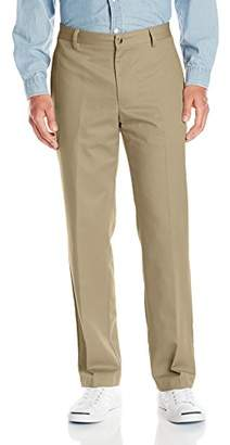 Van Heusen Men's No-Iron Classic-Fit Flat-Front Pant