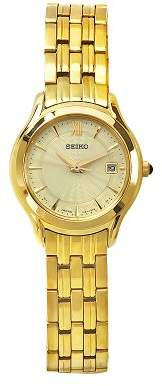 Seiko Men's Quartz Metal and Stainless Steel Casual Watch