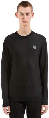 Kenzo Cotton Blend Crewneck Sweater