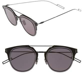 Christian Dior 'Composit 1.0S' 62mm Metal Shield Sunglasses