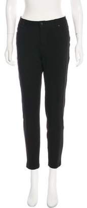 Andrew Marc Mid-Rise Straight-Leg Pants