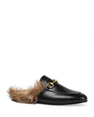 Gucci Princetown Fur Lined Mule