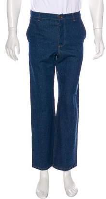 Patrik Ervell Cropped Straight-Leg Jeans