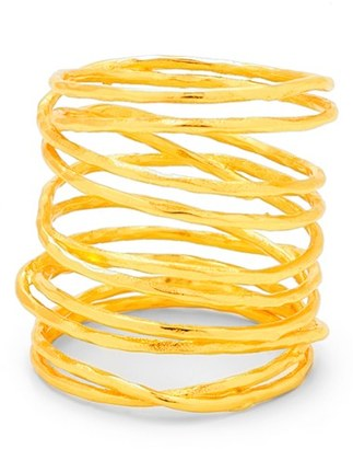 Women's Gorjana 'Lola' Coil Ring $60 thestylecure.com