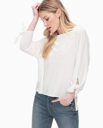 Splendid Cotton Slub 3/4 Sleeve Dolman Tee