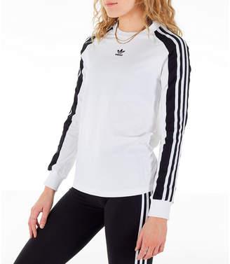 adidas Women's Panel Long-Sleeve T-Shirt