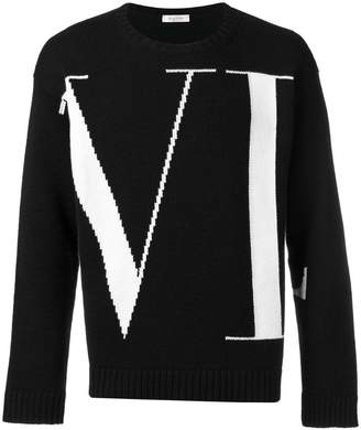 Valentino cashmere slim fit jumper