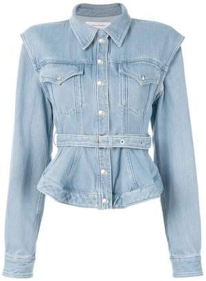Marques'almeida belted denim jacket