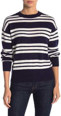 Abound Long Sleeve Striped Knit Sweater