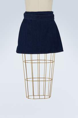 J.W.Anderson Denim mini skirt